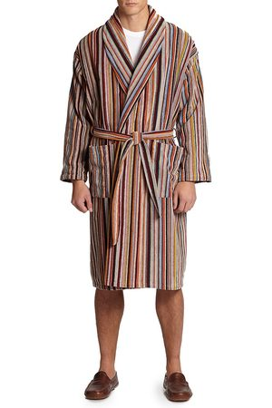 Paul Smith Men's Multi-Striped Robe - - Size Small