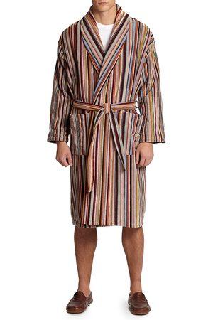 Paul Smith Men's Multi-Striped Robe - - Size Small