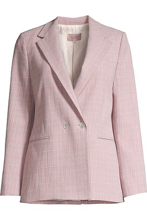 REBECCA TAYLOR Women's Plaid Suit Jacket - - Size 4