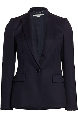 Stella McCartney Women's Iris Wool Jacket - - Size 46 (12)