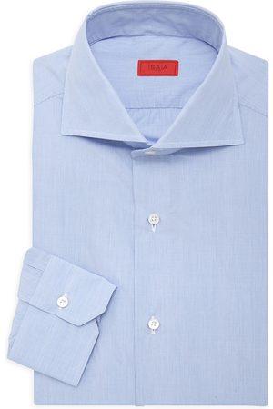 ISAIA Men's Micro Effect Dress Shirt - - Size 44 (17.5)