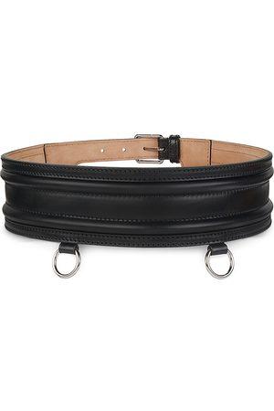 Alexander McQueen Women's Leather Belt - - Size Medium (90)