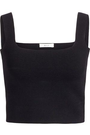 A.L.C. Women's Victoria Knit Top - - Size Large