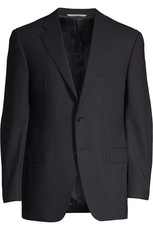 CANALI Men's Basic Wool Sportcoat - - Size 56 L