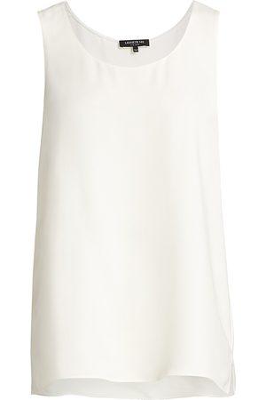Lafayette 148 New York Women's Finnley Silk Top - - Size Large