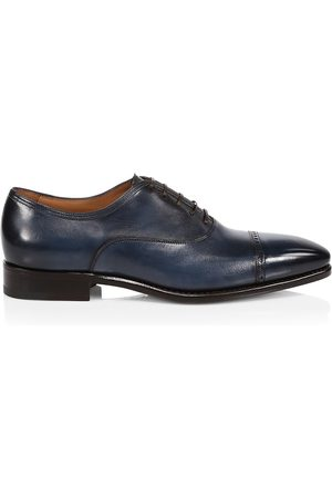 Paul Stuart Men's Monarch Leather Cap Toe Oxfords - - Size 12