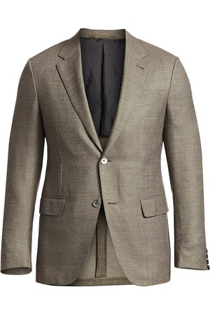 Ermenegildo Zegna Men's Wool Fitted Sportcoat - - Size 58 (48) R