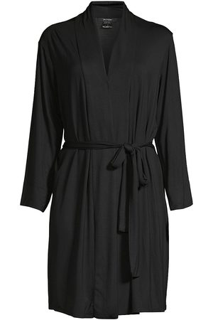 Natori Women's Long-Sleeve Wrap Robe - - Size XXL