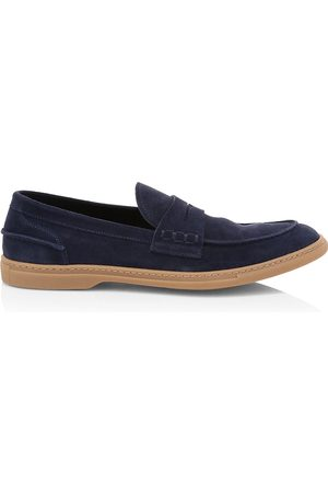 To Boot Men's Fort Greene Suede Penny Loafers - - Size 13