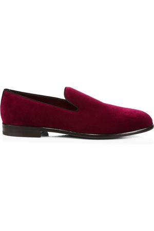 Dolce & Gabbana Men's Velvet Loafers - - Size 46 (13)