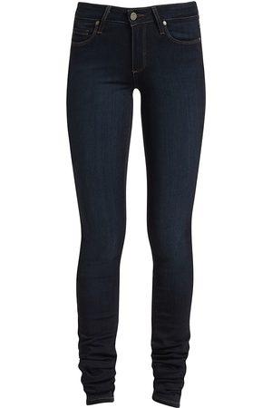Paige Women's Verdugo Transcend Mid-Rise Ultra-Skinny Extra-Long Leggy Jeans - - Size 32 (12)