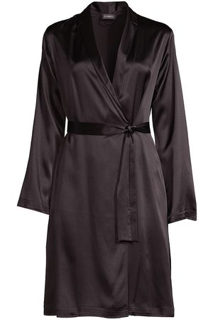 La Perla Women's Silk Robe - - Size Large