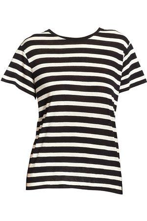 R13 Women's Striped Boy Tee - - Size Large