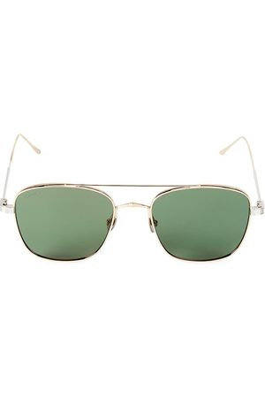 Cartier Men's 55MM Square Browline Sunglasses