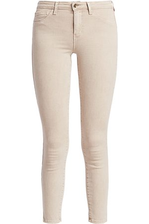 L'Agence Women's Margot High-Rise Ankle Skinny Jeans - - Size 32 (10-12)