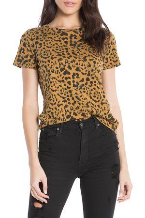 N:philanthropy Women's Jigsaw Leopard Print Top - - Size Medium