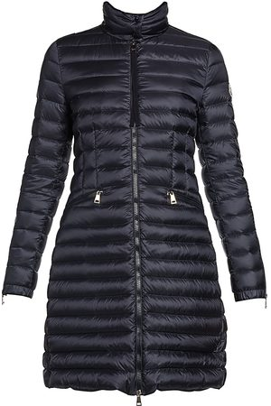 Moncler Women's Sable Giubbotto Zip-Cuff Puffer Jacket - - Size 3 (Large)