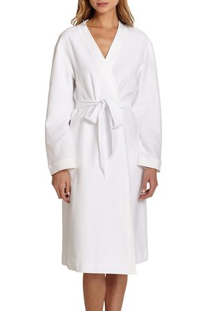Hanro Women's Cotton Pique Robe - - Size XL