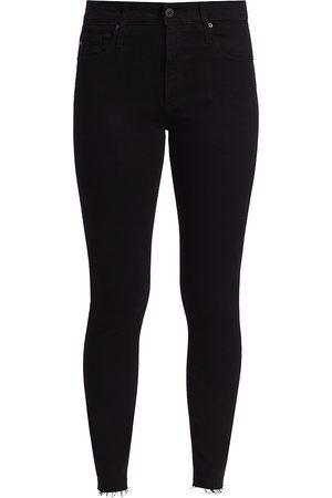 AG Jeans Women's Farah High-RiseAnkle Skinny Jeans - - Size 32 (10-12)
