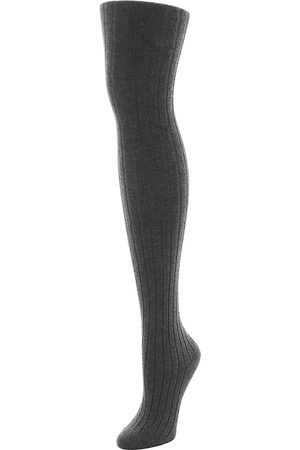 Natori Women's Cashmere Blend Ribbed Sweater Tights - - Size Medium-Large