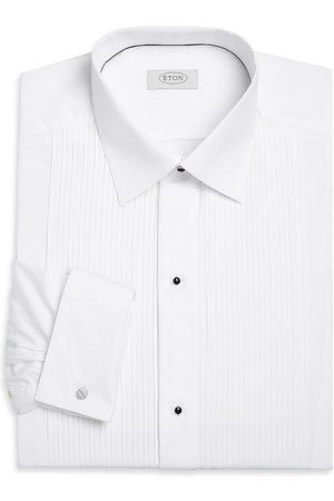 Eton Men's Contemporary-Fit Pleated-Bib Formal Shirt - - Size 16.5