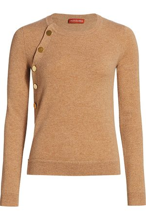Altuzarra Women's Minamoto Cashmere Button Knit Sweater - - Size Large