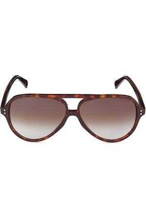 Céline Men's 61MM Gradient Aviator Sunglasses
