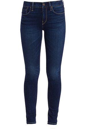 Hudson Women's Nico Mid-Rise Super Skinny Jeans - - Size 32 (12)