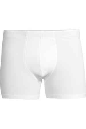 Hanro Men's Cotton Superior Long-Leg Boxer Briefs - - Size XXL