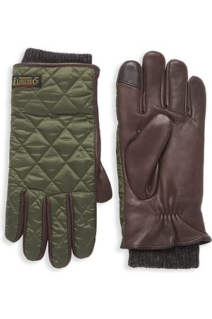 Polo Ralph Lauren Men's Touch Quilted Field Gloves - - Size Large