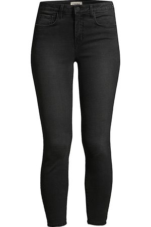 L'Agence Women High Waisted - Women's Margot High-Rise Ankle Skinny Jeans - - Size 32 (10-12)