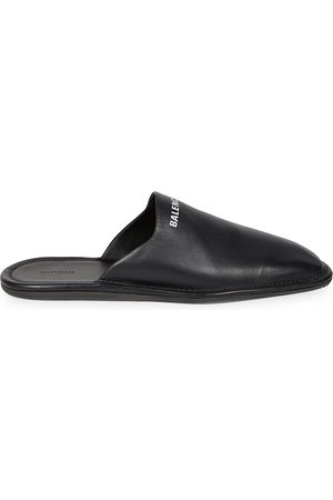Balenciaga Men's Cozy Leather Slippers - - Size 45 (12)