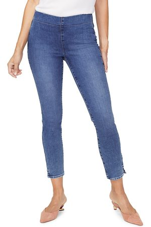 NYDJ Women's Pull-On High-Rise Skinny Jeans - - Size 16