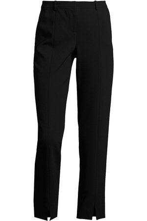 ST. JOHN Women's Jennifer Ankle Slit Pants - - Size 12