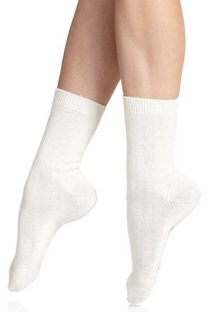 Falke Women's Cosy Wool Socks - Off - Size 8