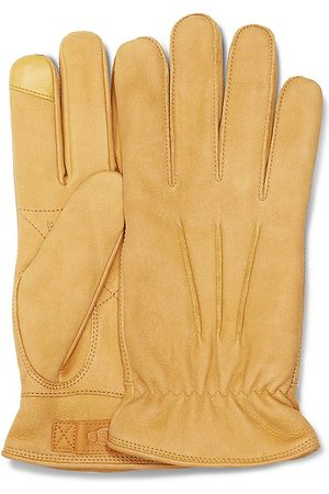 UGG Men's 3 Point Leather Suede Gloves - - Size Large