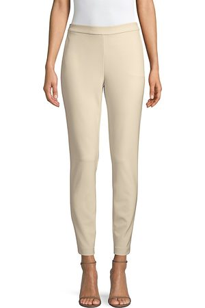 Lafayette 148 New York Women's Acclaimed Stretch Murray Cropped Pant - - Size Medium