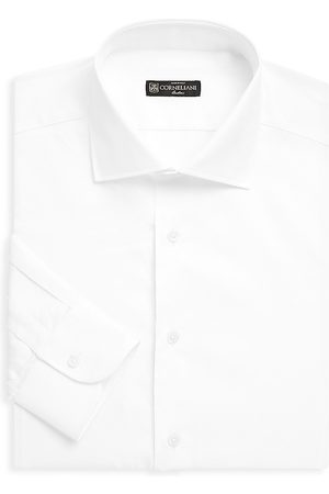 corneliani Men's Cotton Dress Shirt - - Size 38 (15)