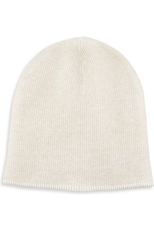 Brunello Cucinelli Men's Ribbed Vanise Cashmere Hat - - Size XL