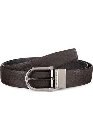 Ermenegildo Zegna Men's Adjustable & Reversible Leather Belt - - Size 110 (44)