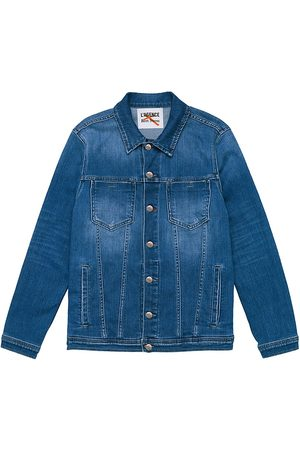L'Agence Women's Karissa Oversized Denim Jacket - - Size Medium-Large