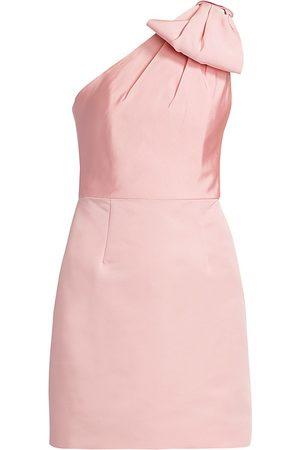Alexia Maria Women's Blair Bow One-Shoulder Dress - - Size 0