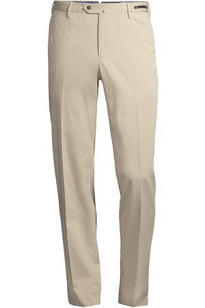 PT01 Men's Slim-Fit Silk-Blend SilkOchino Trousers - - Size 56 (40)