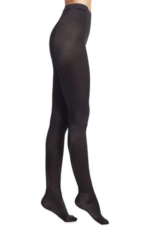 Wolford Women's Satin De Luxe Tights - - Size Large