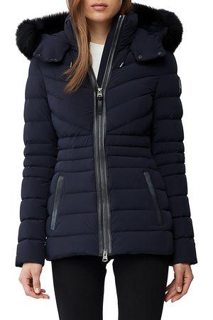 Mackage Women's Fox Fur Down Filled Jacket - - Size Medium