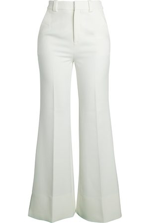 Roland Mouret Women's Dilman Fit-&-Flare Crepe Pants - - Size 12 UK (8 US)