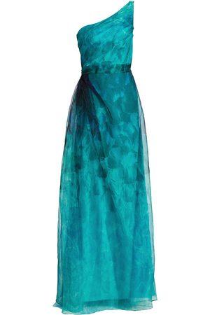 Rene Ruiz Collection Women's One-Shoulder Organza Gown - - Size 16