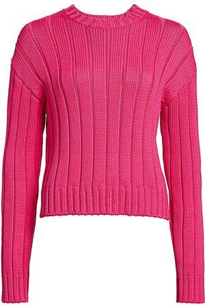 Derek Lam Women's Iola Ribbed Sweater - - Size Large