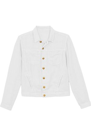 L'Agence Women's Celine Linen Jacket - - Size Medium
