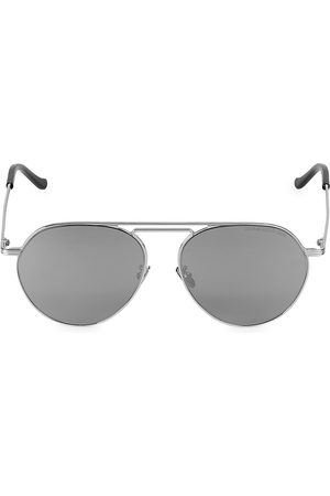 Cutler and Gross Men's 58MM Metal Aviator Sunglasses
